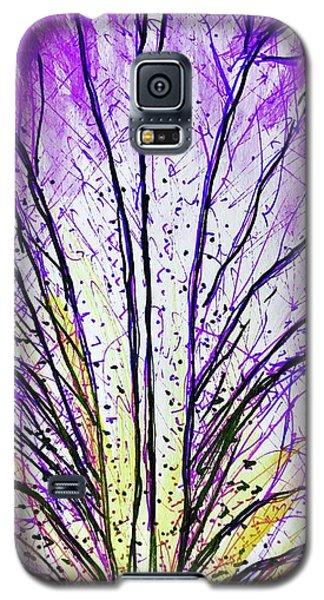Macro Iris Petal Galaxy S5 Case