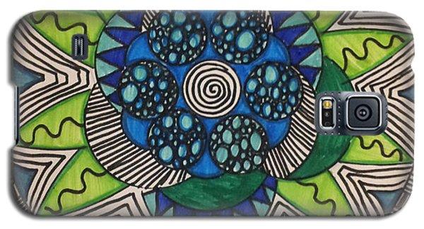 Mad Mandala Galaxy S5 Case by Reneza Waddell