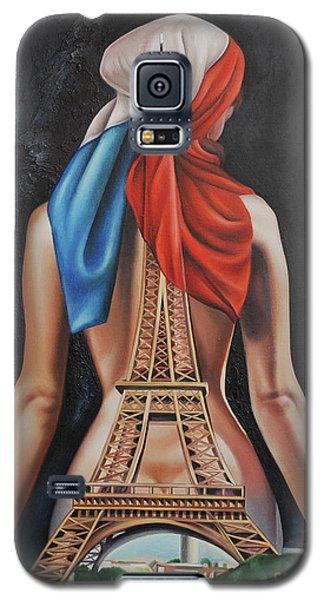 Madame Eiffel Galaxy S5 Case by Jorge L Martinez Camilleri
