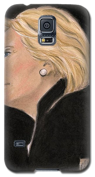 Madame President Galaxy S5 Case by P J Lewis