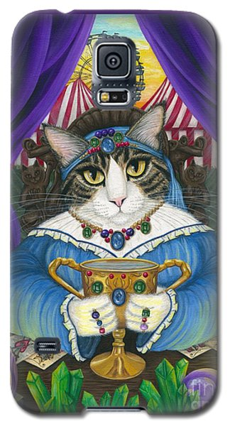 Madame Zoe Teller Of Fortunes - Queen Of Cups Galaxy S5 Case