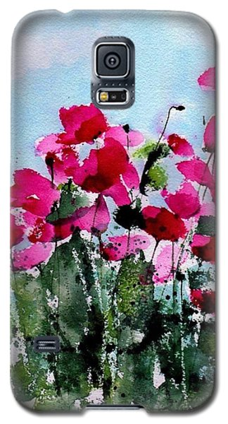 Maddy's Poppies Galaxy S5 Case