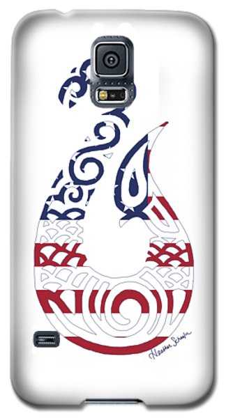 Made In The Usa Tribal Fish Hook Galaxy S5 Case