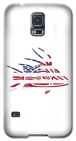 Made In The Usa Tribal Hogfish Galaxy S5 Case