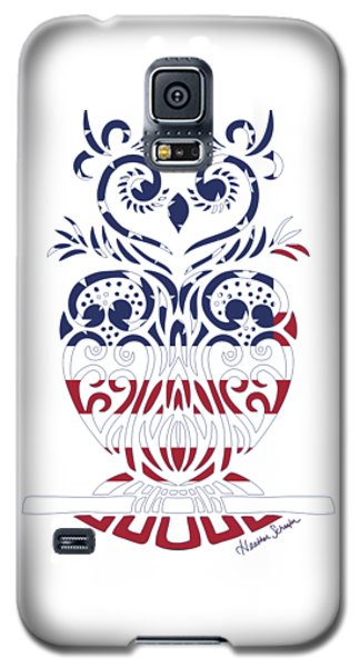 Made In The Usa Tribal Owl Galaxy S5 Case