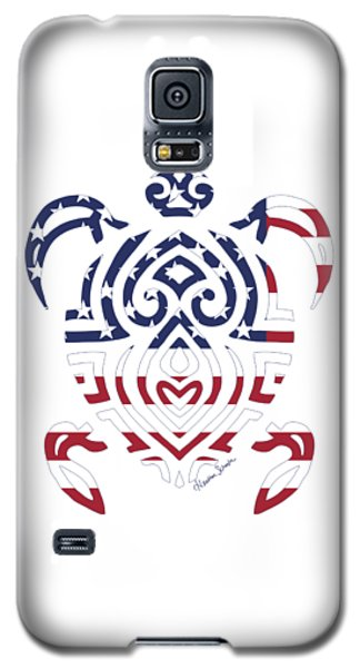 Made In The Usa Tribal Turtle Galaxy S5 Case
