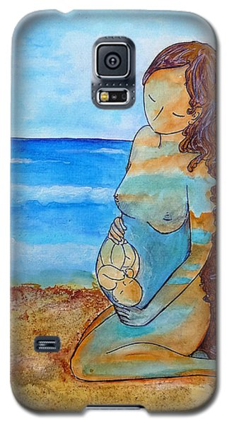 Made Of Water Galaxy S5 Case by Gioia Albano