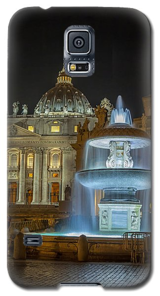 Galaxy S5 Case featuring the photograph Maderno's Fountain by Ed Cilley
