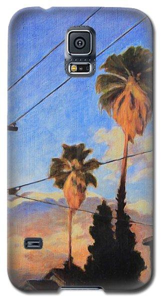 Madison Ave Sunset Galaxy S5 Case