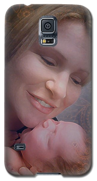 Madonna And Child 2 Galaxy S5 Case
