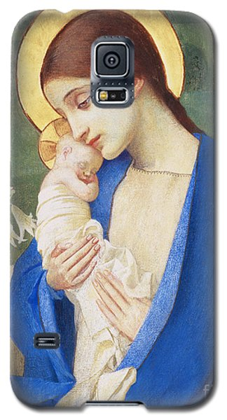 Religious Galaxy S5 Case - Madonna And Child by Marianne Stokes