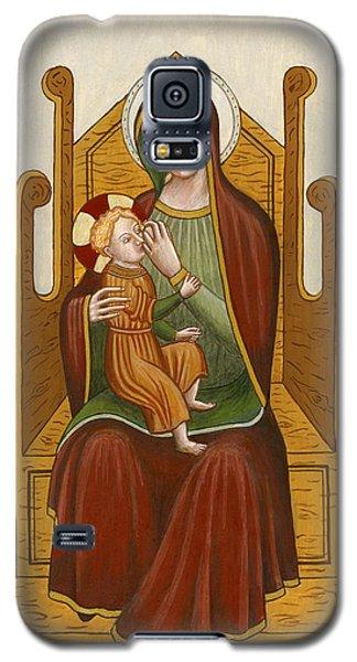 Madonna Del Latte - Madonna Nursing Galaxy S5 Case