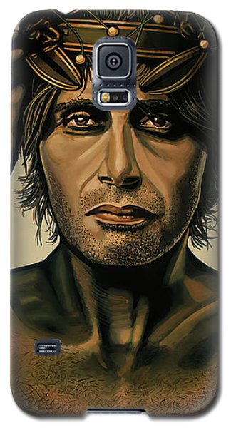 Mads Mikkelsen Painting Galaxy S5 Case by Paul Meijering