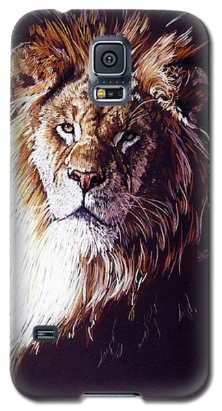 Galaxy S5 Case featuring the drawing Maestro by Barbara Keith