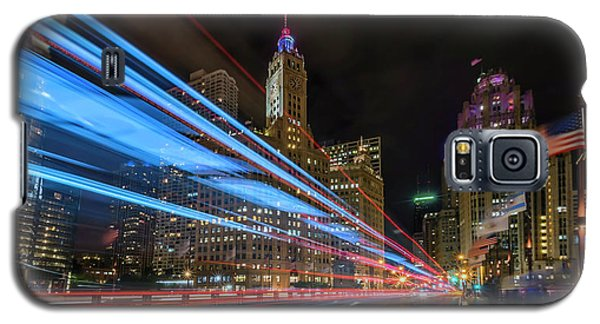 Galaxy S5 Case featuring the photograph Mag Mile Warp Speed by Sean Foster