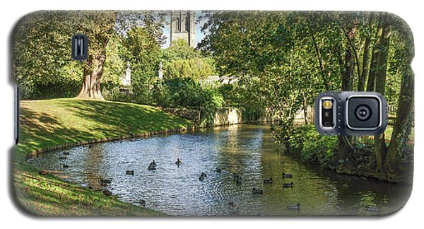 Magdalen From The River Cherwell Galaxy S5 Case
