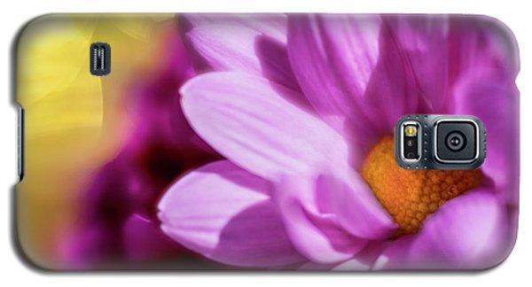 Magenta Floral Galaxy S5 Case