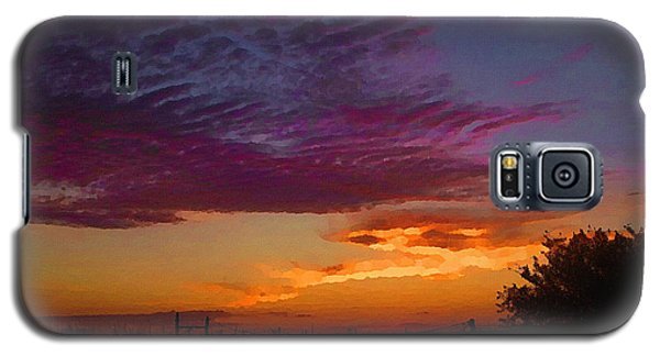 Magenta Morning Sky Galaxy S5 Case