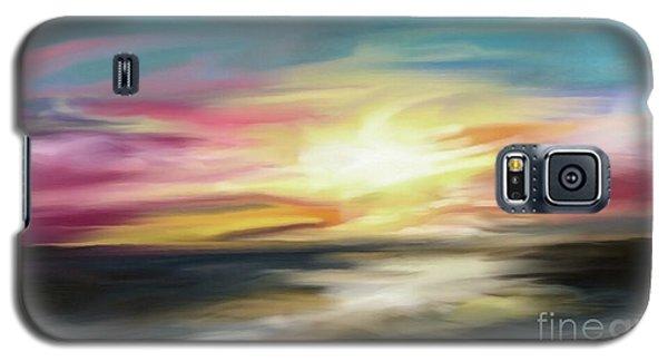 Magenta Sea Galaxy S5 Case