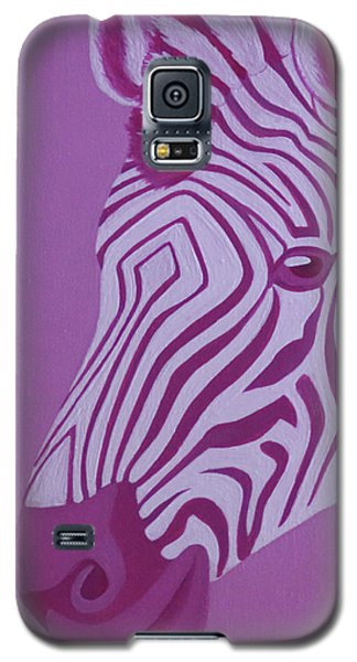 Magenta Zebra Galaxy S5 Case
