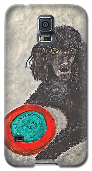 Maggie And Her Frisbee Galaxy S5 Case