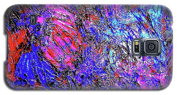 Magic Blue Galaxy S5 Case