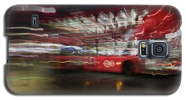 Galaxy S5 Case featuring the photograph Magic Bus by Alex Lapidus