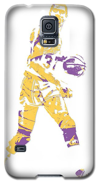 Magic Johnson Los Angeles Lakers Pixel Art 5 Galaxy S5 Case