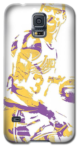 Magic Johnson Los Angeles Lakers Pixel Art 6 Galaxy S5 Case