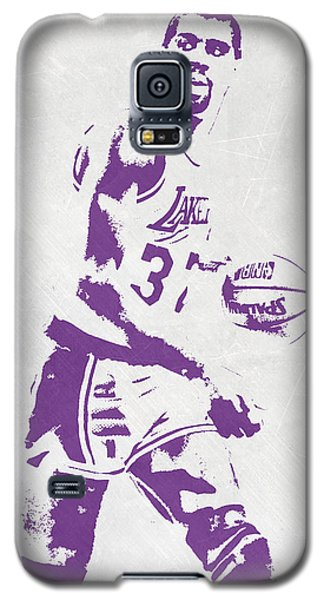 Magic Johnson Los Angeles Lakers Pixel Art Galaxy S5 Case