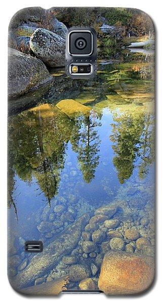 Magic Light On Big Silver Galaxy S5 Case