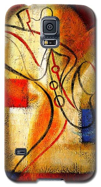 Magic Saxophone Galaxy S5 Case
