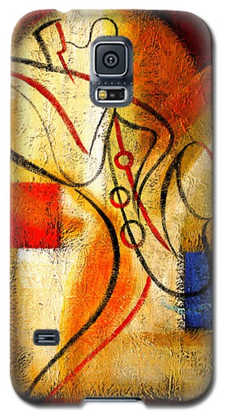 Magic Saxophone Galaxy S5 Case