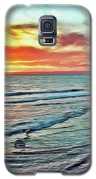 Magic Sunset Color Spectrum Galaxy S5 Case