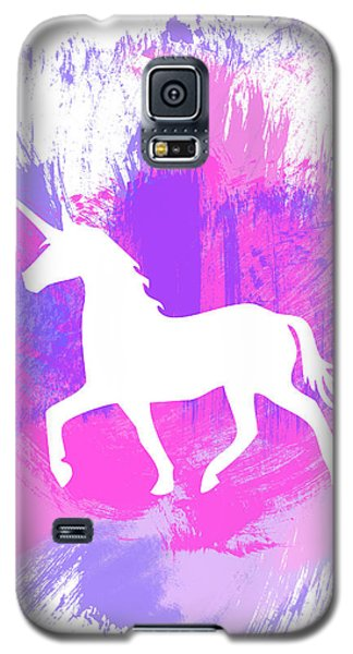 Magician Galaxy S5 Case - Magic Unicorn 1- Art By Linda Woods by Linda Woods