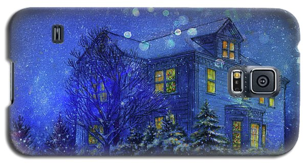 Magical Blue Nocturne Home Sweet Home Galaxy S5 Case