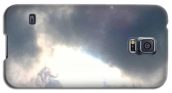 Sky Galaxy S5 Case - Magical #clouds Today :-) #sky #weather by Shari Warren