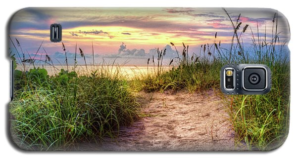 Galaxy S5 Case featuring the photograph Magical Light In The Dunes by Debra and Dave Vanderlaan