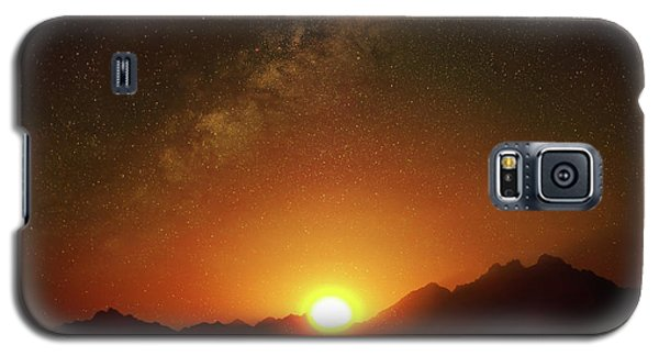 Magical Milkyway Above The African Mountains Galaxy S5 Case