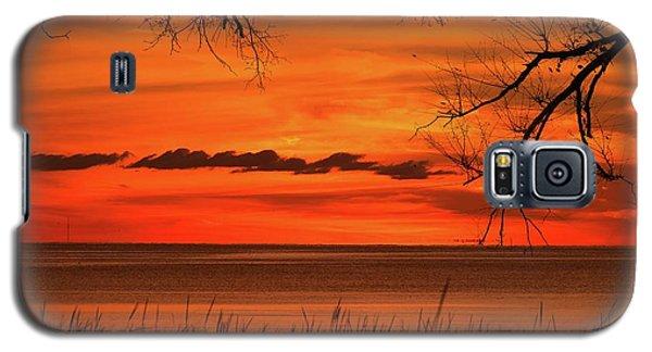 Magical Orange Sunset Sky Galaxy S5 Case