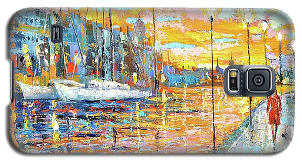 Magical Sunset Galaxy S5 Case by Dmitry Spiros