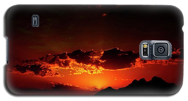 Magical Sunset In Africa 2 Galaxy S5 Case