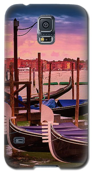 Magical Sunset In Venice Galaxy S5 Case
