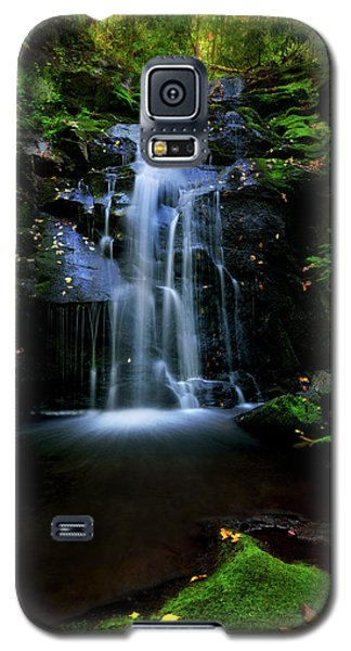 Magical Waterfall Above Spruce Falls In Tremont Smoky Mountains Tennessee  Galaxy S5 Case