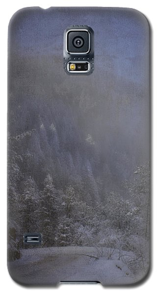 Galaxy S5 Case featuring the photograph Magical Winter Day by Ellen Heaverlo