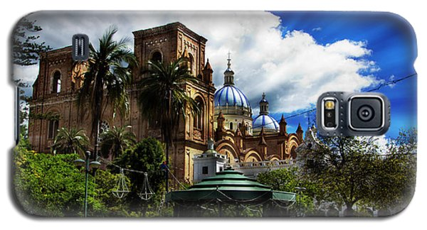 Galaxy S5 Case featuring the photograph Magnificent Center Of Cuenca, Ecuador IIi by Al Bourassa