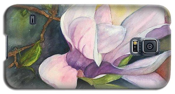 Magnificent Magnolia Galaxy S5 Case by Lucia Grilletto
