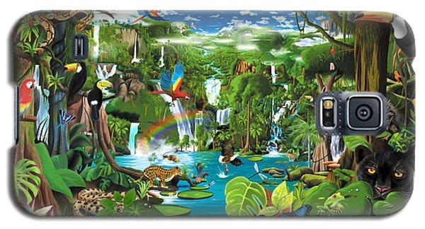 Magnificent Rainforest Galaxy S5 Case