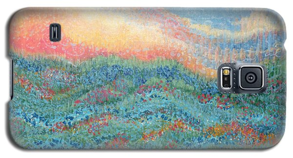 Magnificent Sunset Galaxy S5 Case by Holly Carmichael