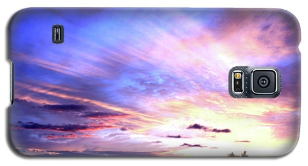 Magnificent Sunset Galaxy S5 Case by Karen Nicholson